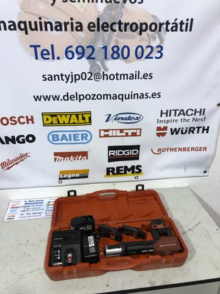 Rothenberger romax compac prensa