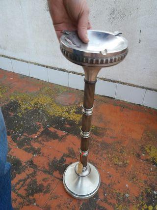 cenicero de pie vintage antiguo NUEVO