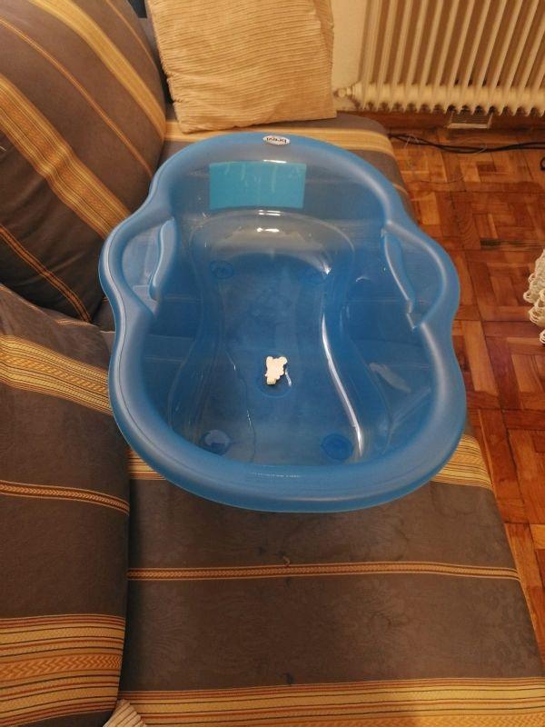 bañera de bebe con patas