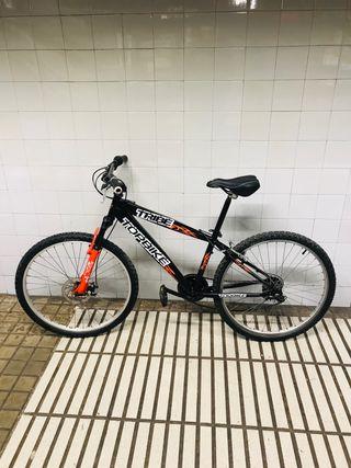 Bicicleta TopBike IMPECABLE con freno a disco.