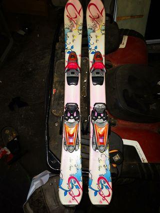 skis niña