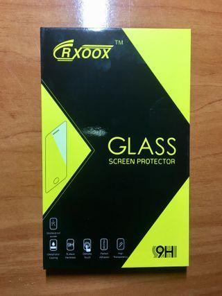 Protector pantalla iPhone 6/6S blanco.