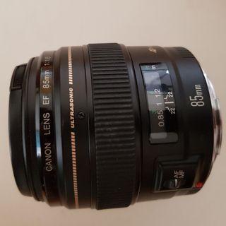 Objetivo CANON EF 85mm 1:1.8 USM