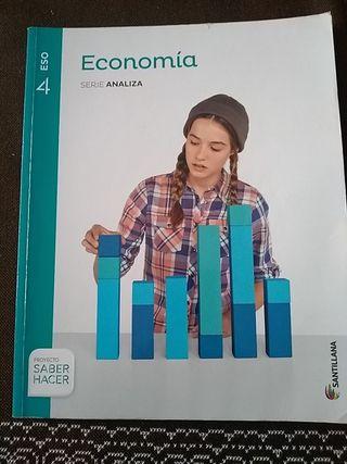 Economía 4° ESO. Santillana