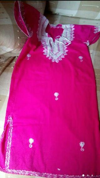 vestido marroquí 6-8 años niña