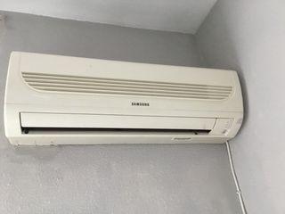 aire acondicionado samsung de pared, incluye mando