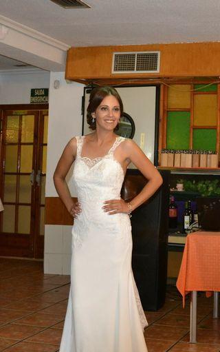 ccb7374b7 Vestido de novia de segunda mano en Murcia en WALLAPOP