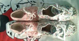 regalo zapatillas lona niña 26