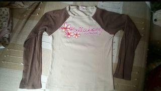 camiseta BILLABONG 6-8 años niña