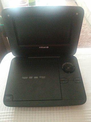 reproductor con pantalla de Dvd portatil