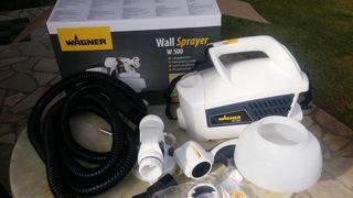 Máquina sistema pulverizador pintura y barniz