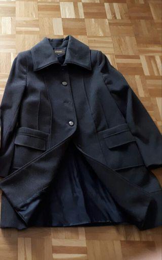 Abrigo de paño talla 42