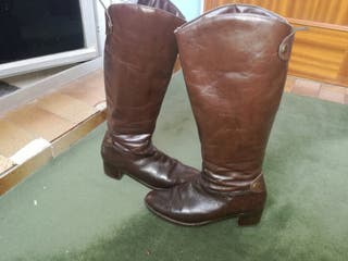 botas de cuero 37