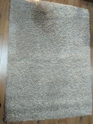 alfombra de pelo largo
