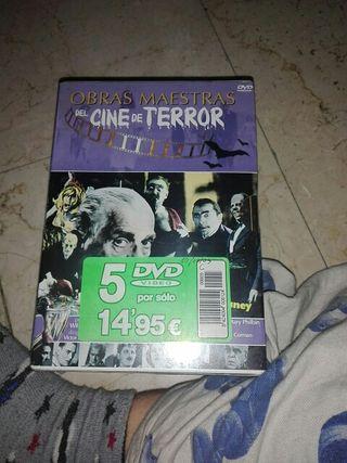 DVD el cine del terror nuevo