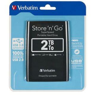Disco duro Verbatim 3.0 de 2TB