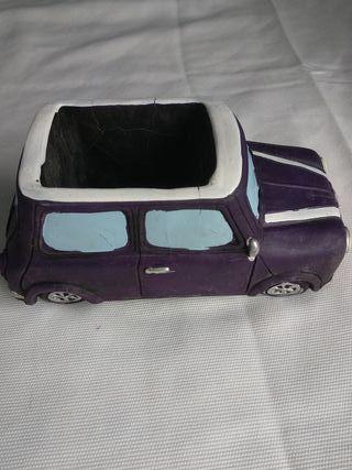 macetero coche mini Cooper