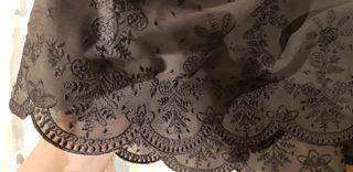 Falda Boboli con unico uso. Ideal para ceremonia