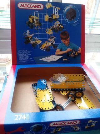 meccano juego construcción
