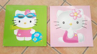 Cuadros Hello Kitty