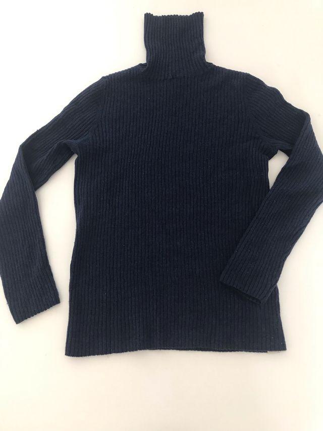 d9d9dd500ad7 Jersey lana cuello cisne Massimo Dutti Original de segunda mano por ...