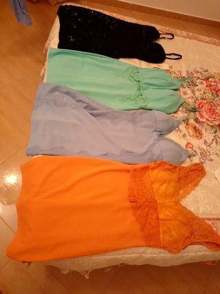 Lote cuatro vestidos
