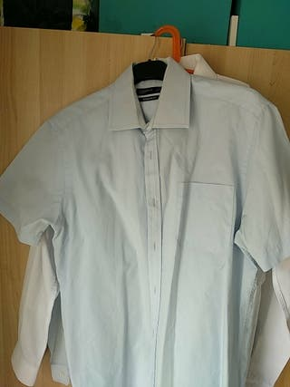 Camisa azul Primark