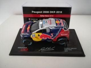 Peugeot 2008 loeb dakar 1/43