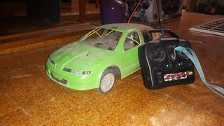 coche rc rally