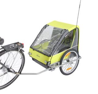 Remolque bici Decathlon