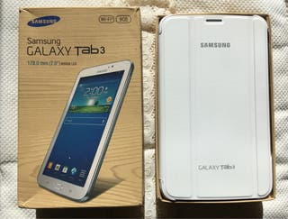 Samsung galaxy Tab3. Nueva y con funda original.