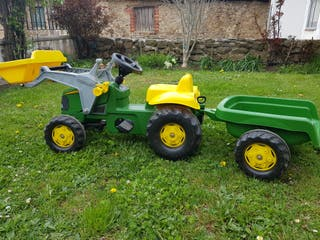 Tractor juguete Pedales
