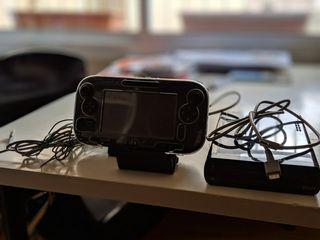 Wii U Consola Negra + mando Wii U Gamepad