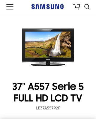 """televisión Samsung 37"""""""