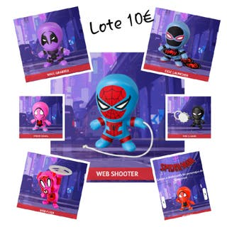Lote 7 Spider-Man McDonalds Happy Meal