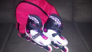 patines de niña talla 31