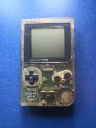 GAME BOY POCKET TRANSPARENTE