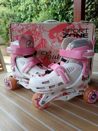 patines 3 posiciones + protecciones
