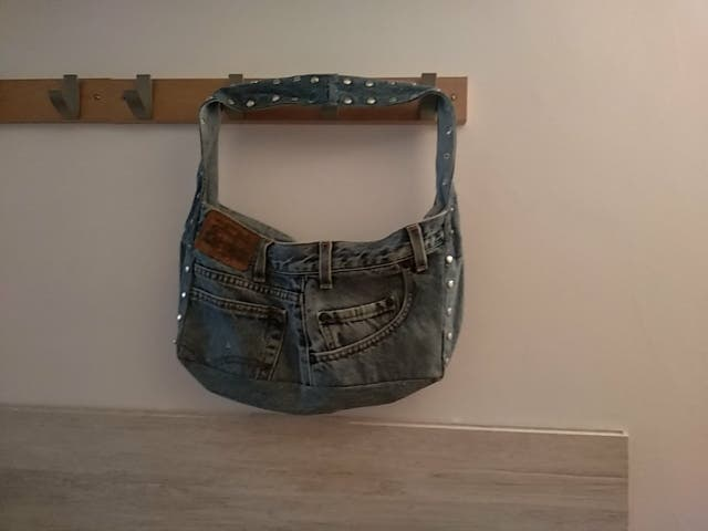 bolso jeans sin estrenar