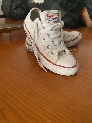 Zapatillas converse all star niña originales