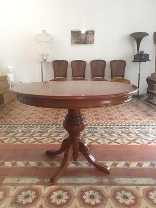 Preciosa mesa madera lujo