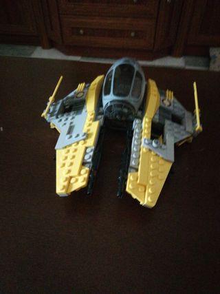 Nave interceptor jedi de lego