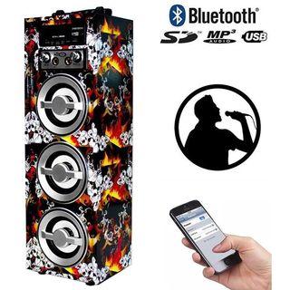 Altavoz portátil con bluetooth karaoke