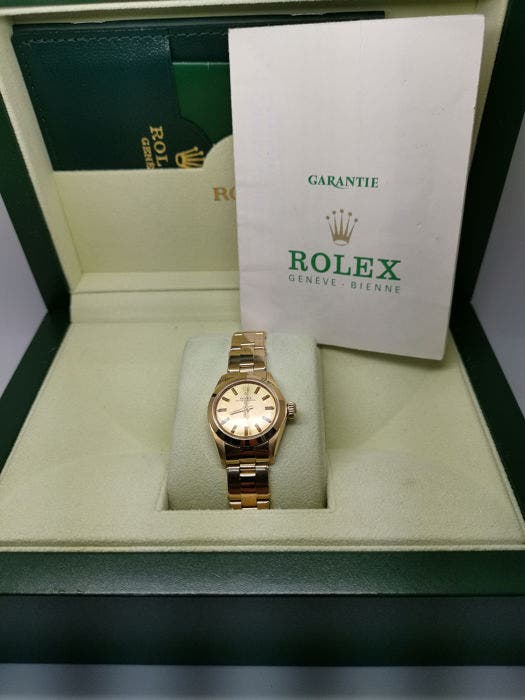 Rolex Oyster perpetual Ref: 6718 por mujer