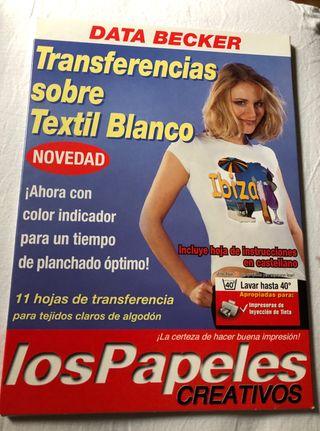 Papel para impresión textil.Nuevo