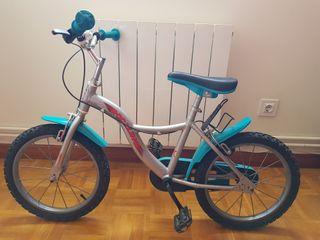 Bici infantil 16 pulgadas