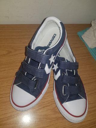 zapatillas conves de niño