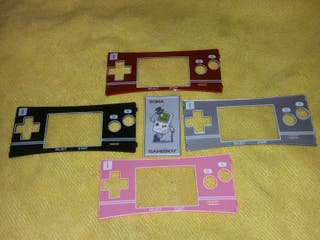 """GAME BOY MICRO """"FACEPLATES"""" (frontales)"""