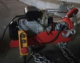 Polipasto electrico con cable de acero PE 500/1000