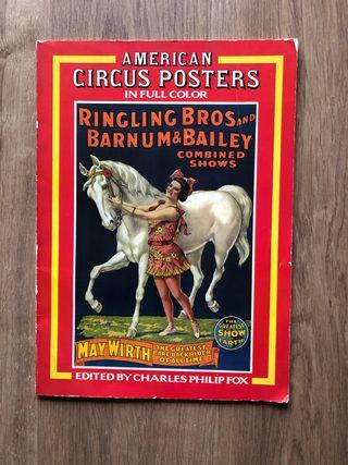 Libro imagenes circo vintage